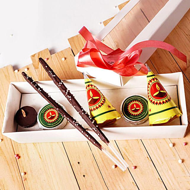 Cracker Shaped Chocolates For Diwali