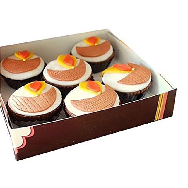 Diya Cupcakes 24