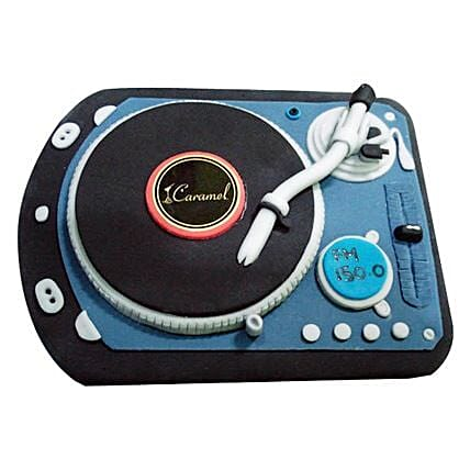 DJ Spin That Cake 3kg Eggless Chocolate