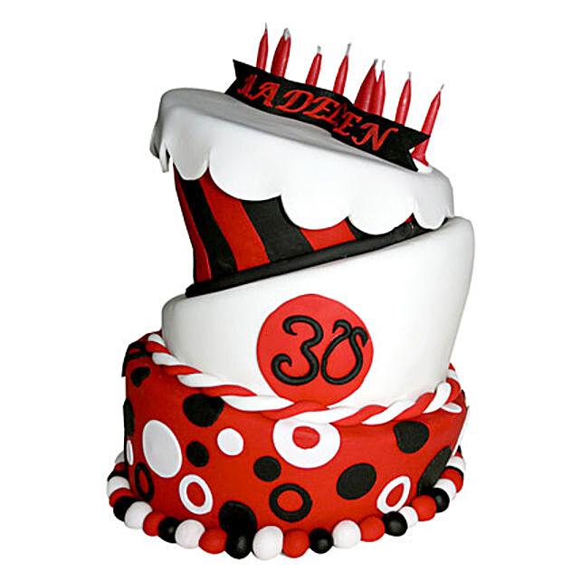 Exquisite Red Cake 5kg