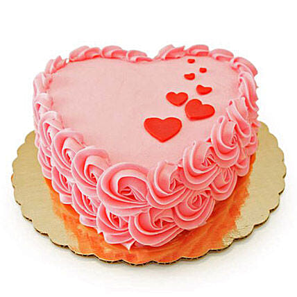 Floating Hearts Cake 2kg Chocolate