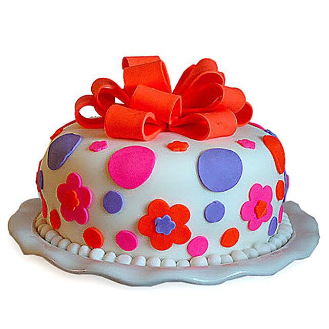Gorgeous Cake 4kg Vanilla Eggless