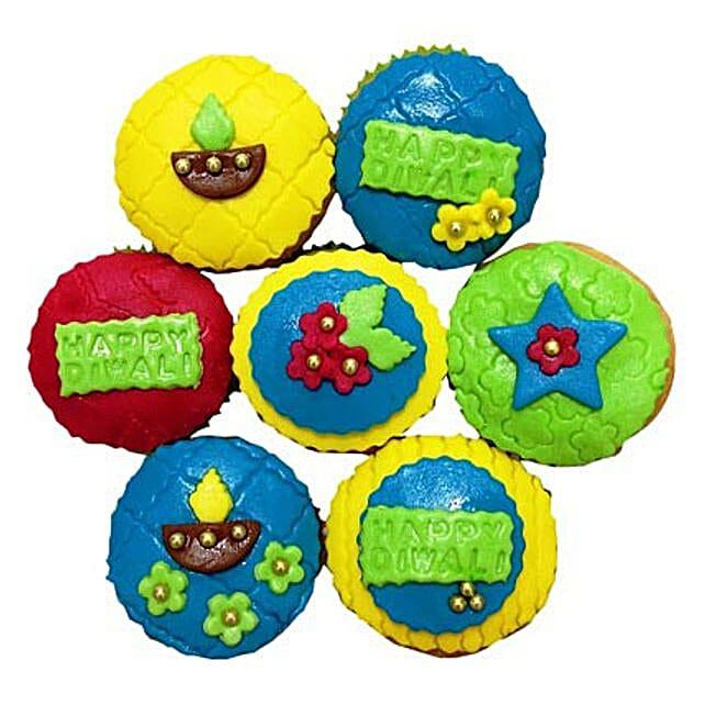 Happy Deepavali Cupcakes 12