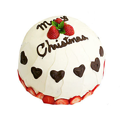 Japanese Christmas Cake 3kg Eggless