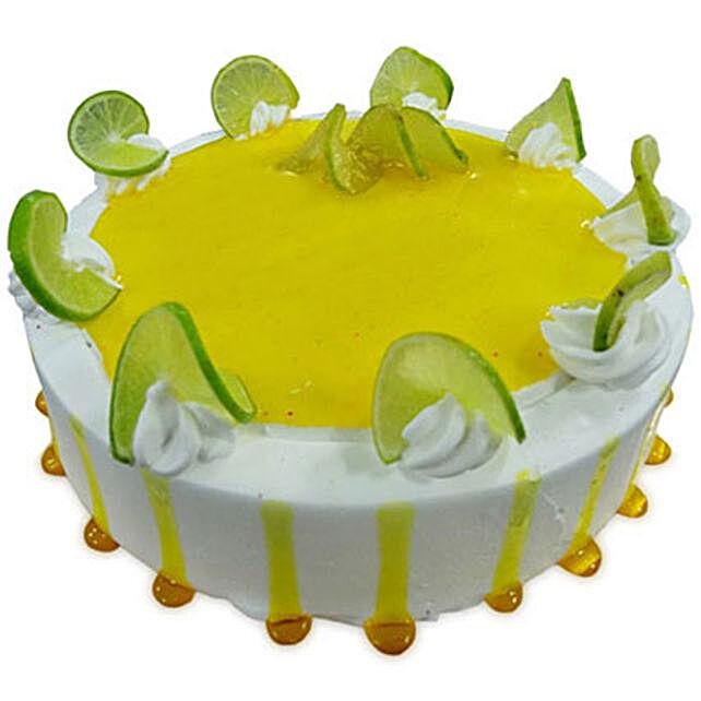 Lemony Lemon Cake Half kg Eggless