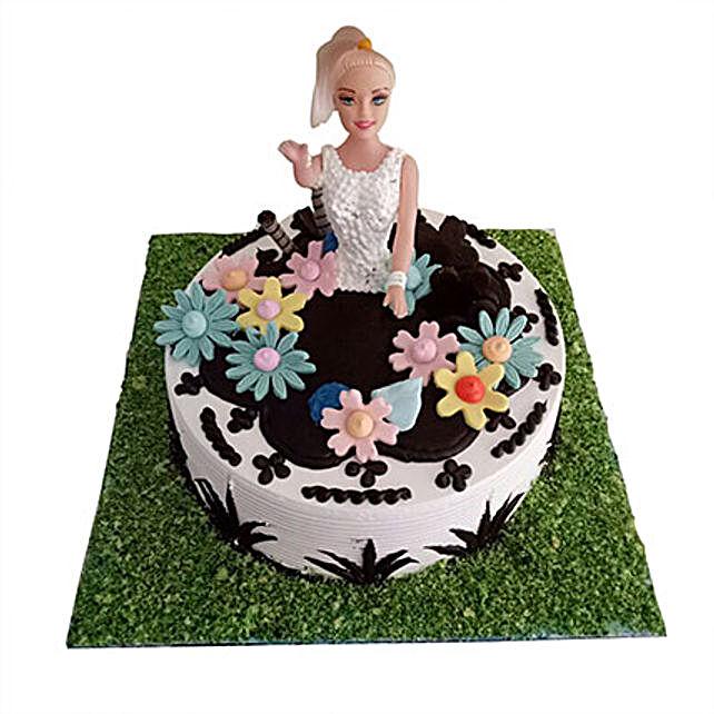 Lovely Baby Doll Cake 2 Kg Eggless