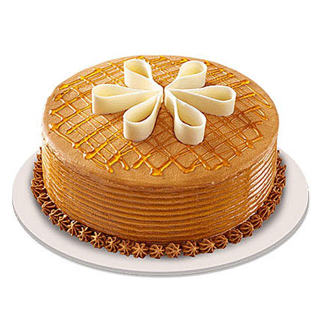 Lush Caramelt Cake 2kg Eggless