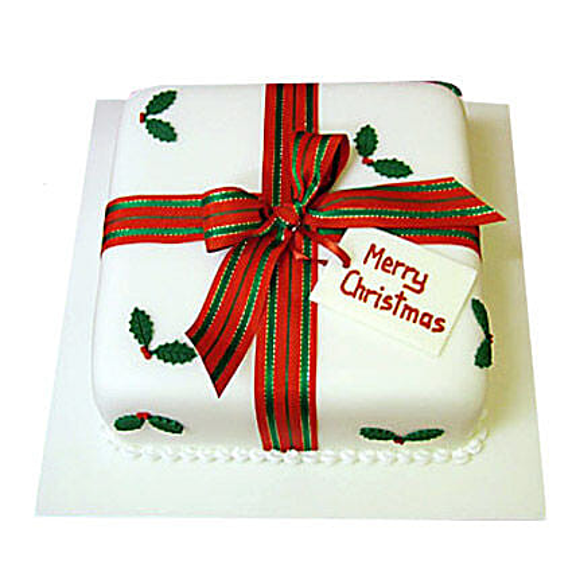 Merry Christmas Cake 3kg Eggless