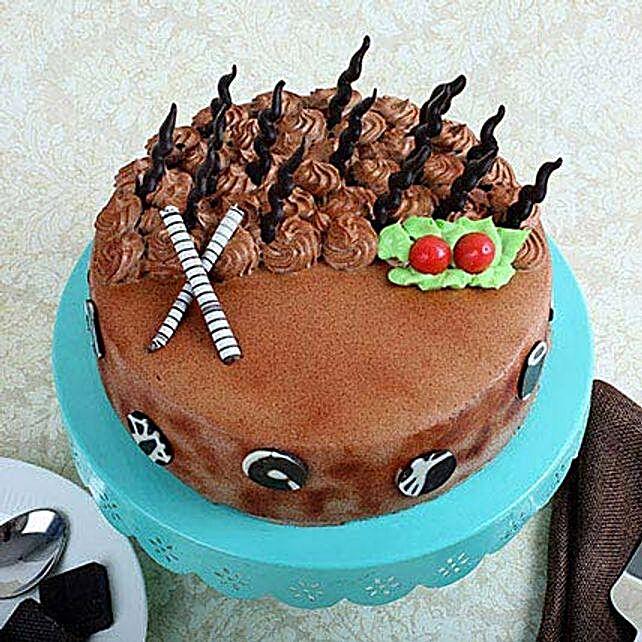 Musical Cake 1kg Eggless Vanilla