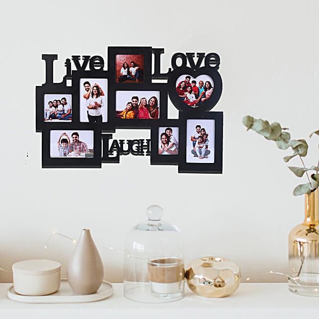 Personalized Live Love Laugh Frames Gift Lovable Frames Live Love Laugh Wall 24x15 Personalized Photo Frame Ferns N Petals