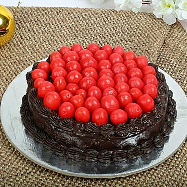 Rich Truffle Cake Half kg Eggless