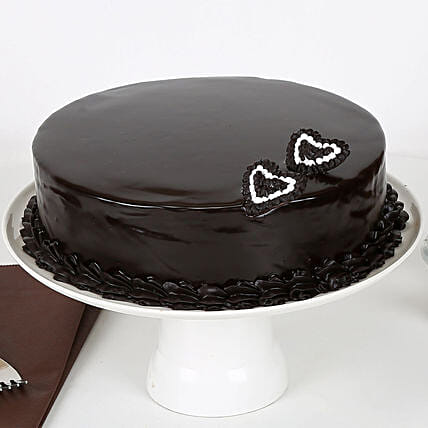 Rich Velvety Chocolate Cake 1kg Eggless