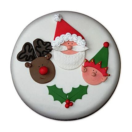 Special Delicious Merry Christmas Cake 4kg Eggless