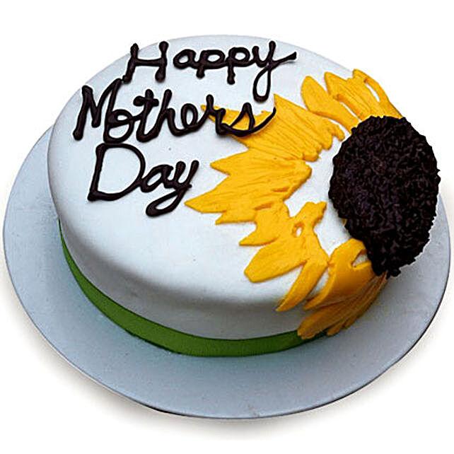 Sunflower Cake for Mom 3kg Eggless
