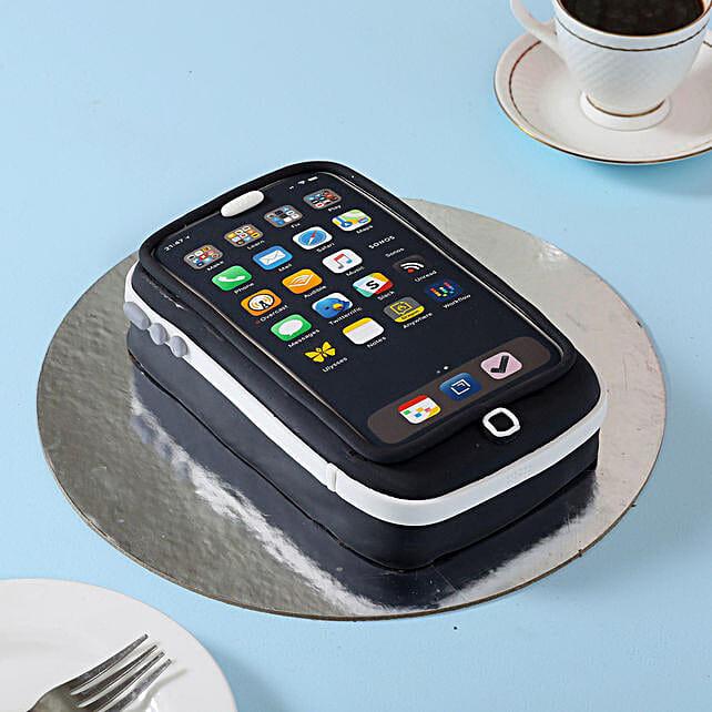Techy iPhone Cake 2kg Eggless