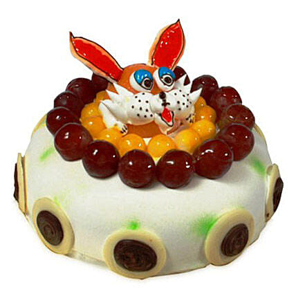 The Delicious Rabbit Cake Eggless 1kg by FNP