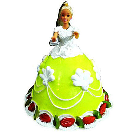 The Lovely Barbie Cake 4kg Chocolate Eggless