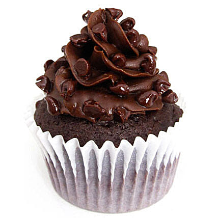 Tripple Chocolate Cupcakes 24 Eggless