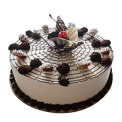 Web Of Happiness Cake 2kg Vanilla Eggless