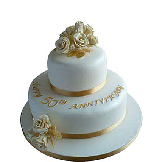 Wedding cake 3kg Eggless