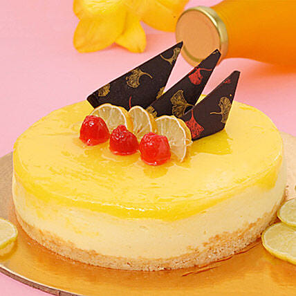 Zesty Lemon Cheesecake Half KG