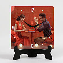 Unique Personalized Table Clock