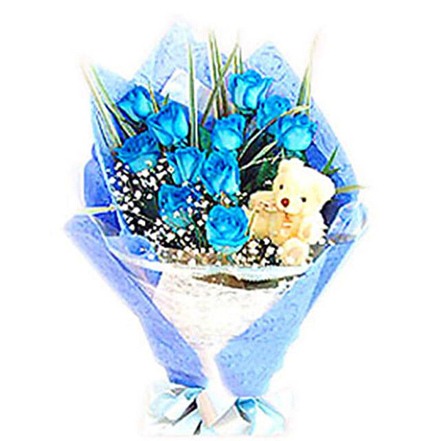 Blue Heavenly Surprise