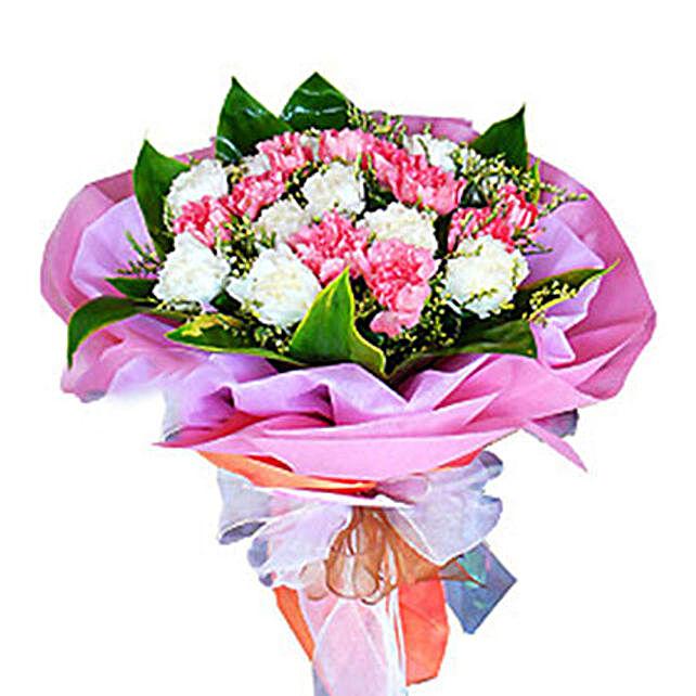 Bouquet Of 2 Dozen Carnations