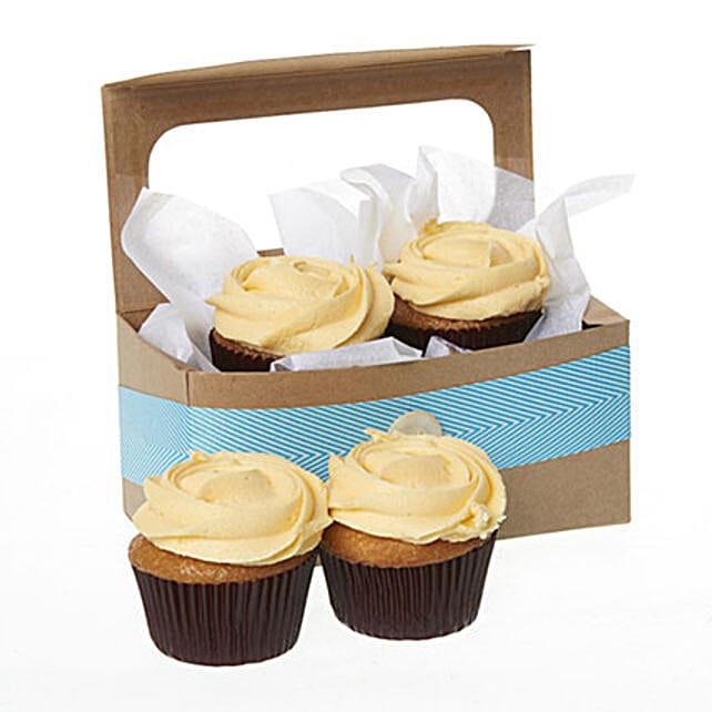 Caramel Salted Cupcakes