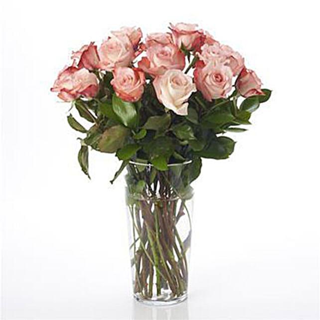 Elegant Powder Pink Roses