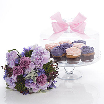 Flowers N Cakes Combo