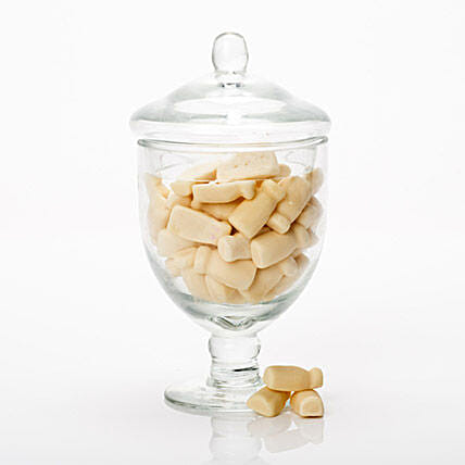 Milk Lollies Jar