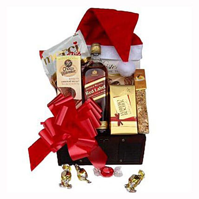 Christmas Red Johnnie Walker