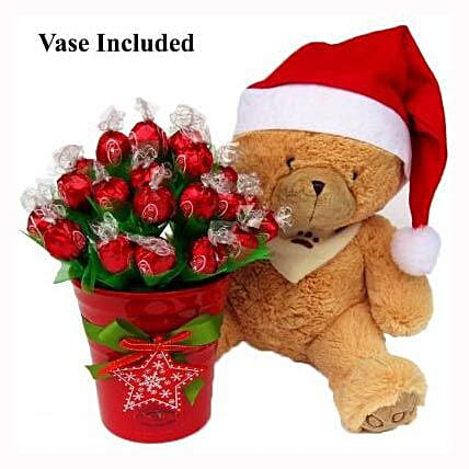 Christmas Teddy Wishes