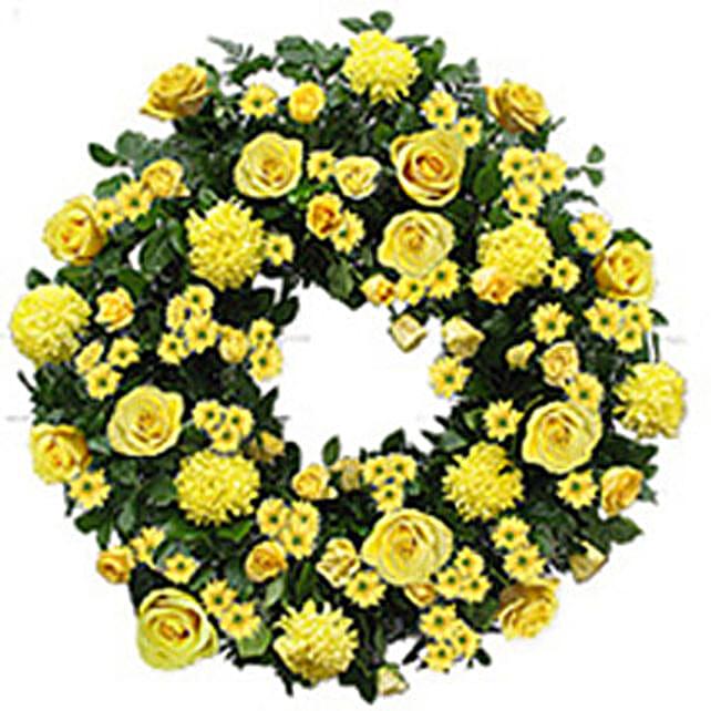Contemporary Wreath qat