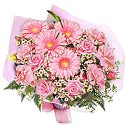 In the pink bouquet qat