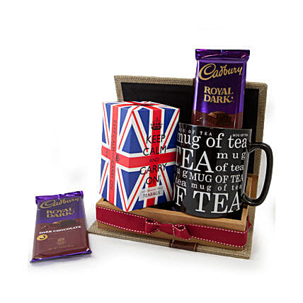 Keep Calm Tea Set