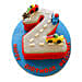 Car Race Birthday Cake 2kg Vanilla