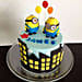 Minions with balloons 3kg Chocolate