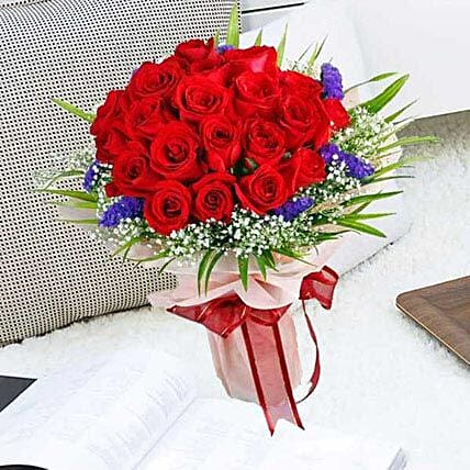 21 Red Rose Bouquet