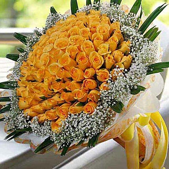 99 Yellow Roses