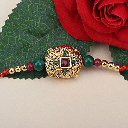 Traditional Antique Rakhi THA