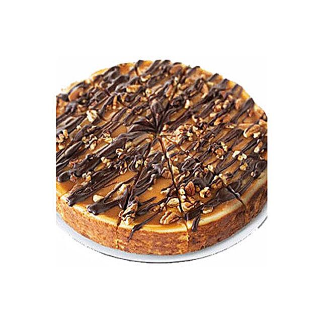 Choc Nut Cheesecake