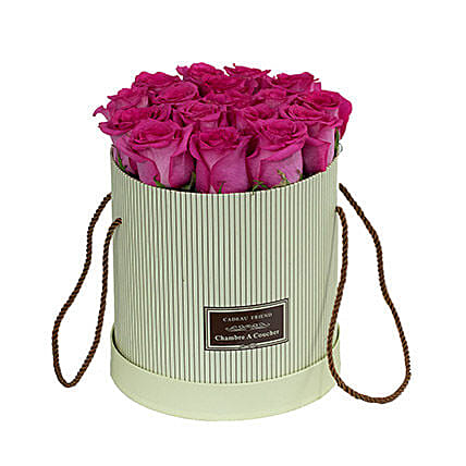 Adorable Pink Roses Box