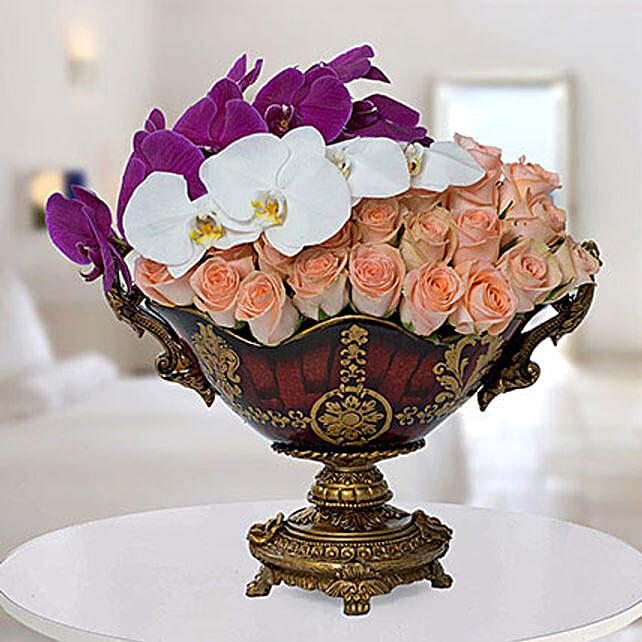 Antique Floral Arrangement