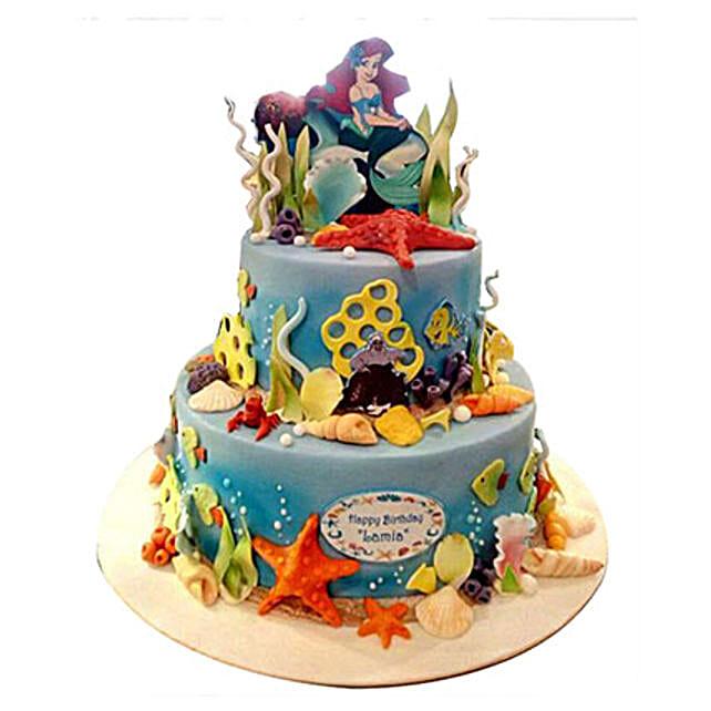 Ariel Princess Cake for Kids