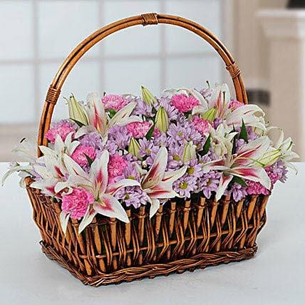 Attractive Flowers Basket