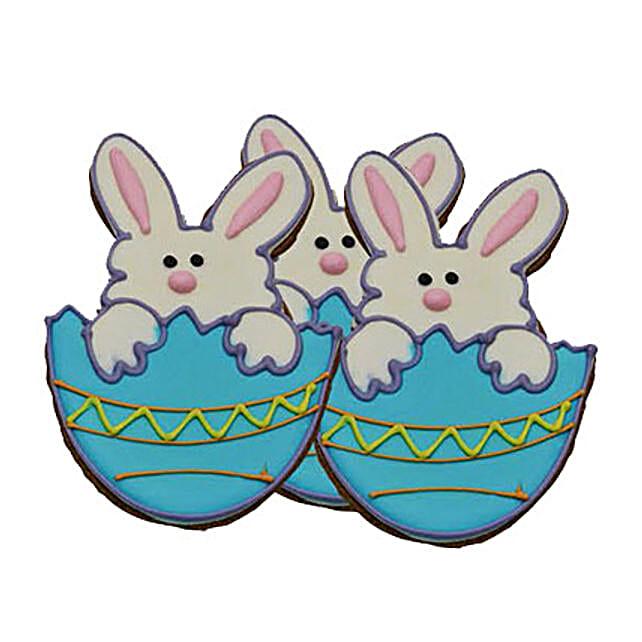 Bunny on Egg