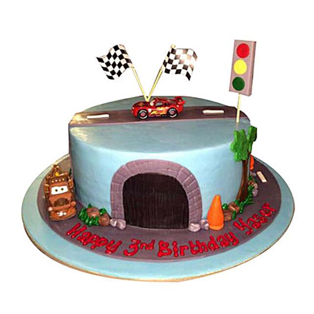 Cartoon Cars Cake