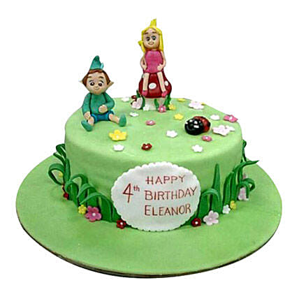 Cartoon Kids Cake